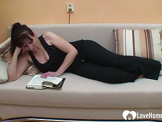 Sexy mom gets slammed in various positions