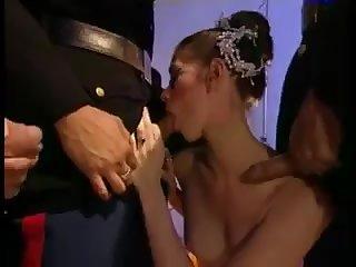 Chloe Nicole - Fetish - Ballerina fucks 3 Aquatic Officers