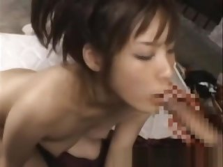 Oriental slut loves cock and toys to have sexy lark with