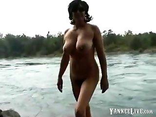 amateur curvy mature gang out of bikini