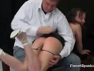 Strange Bondage Spanking Collecting
