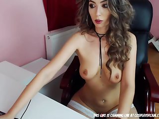 Hot glamour cam slut begs me to show her my long penis