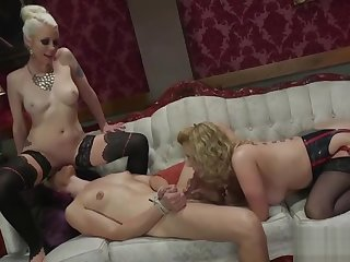 lovely t-girl Rimjob And ejaculation