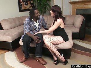 Anal-insane nextdoor milf Blue Angel gets her anus blacked and cremapied