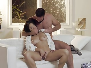Interesting Kendra Spade gets her unshaved pussy pounded in many poses