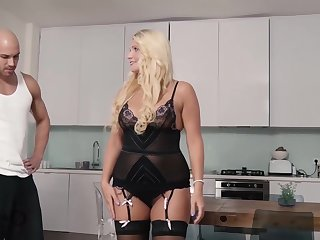 Tatjana Young is a curvaceous blonde intrigue b passion doll who likes to get banged from the up