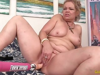 Lustful Grannies Self-satisfied overwrought Sex Machines Compilation