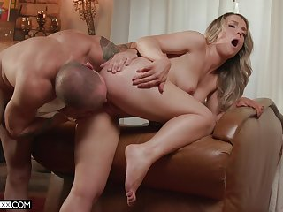 Amazing babe gets laid with choice man when hubby is not digs