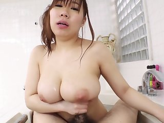 Japanese oiled massage and fucking