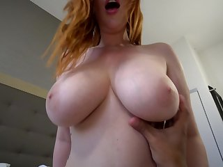 Big titted MILF is only hungry for dick and she loves to get fucked hard