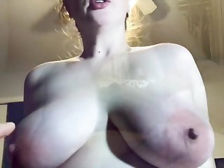 Cum Vitalized Amateur Fucks And Begs To Shudder at Covered In the air Jizz Pov