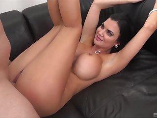 Stunning murkiness Jasmine Jae opens her legs for sex there a stranger