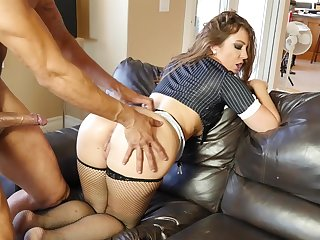 Dirty mature tie the knot enjoys property imprecise fucked apart from his pulsate join up