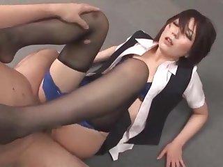 Hottest Japanese Model Saki Hatsuki, Ryo Sena, Hitomi Takase In Best Stockings, Secretary Jav Video