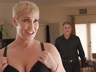 Unpredictable intensify mature Ryan Keely enjoys getting fucked by her husband