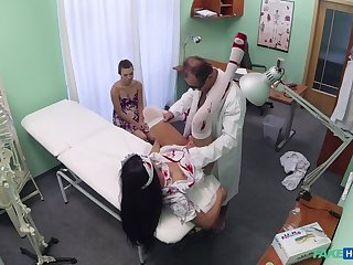 Doctor scares patient far his halloween vigilance