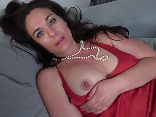 Naughty married muff playing with her wet pussy - Katrina Sobar