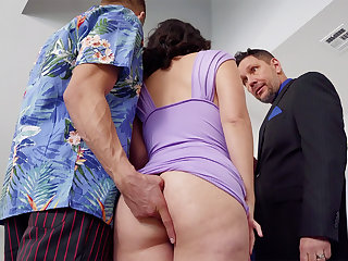 Debaucher romps in anal combativeness mate's wifey at soiree