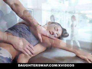 DaughterSwap - Super-Cute Puny Teenage Gets Boinked By Gymnast Cur