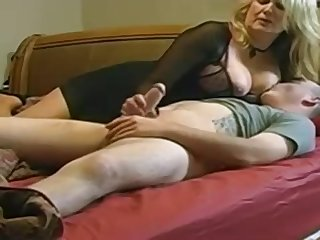 Expert, chubby light-haired is making enjoy round her married buddy, in front of a hidden camera